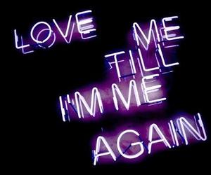 love, grunge, and light image