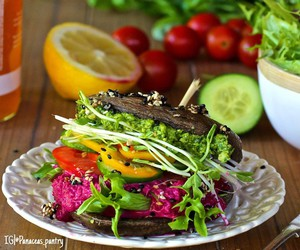 better, burger, and healthy eating image