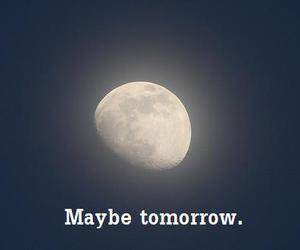 maybe, moon, and night image
