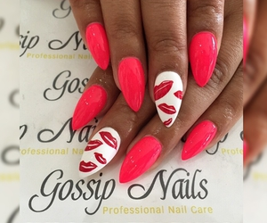nail art, nails, and love image
