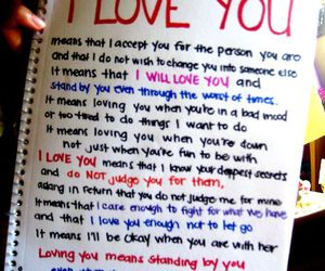 love, quote, and I Love You image