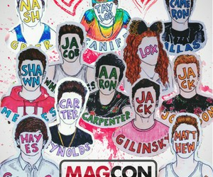 magcon, cameron dallas, and mahogany lox image