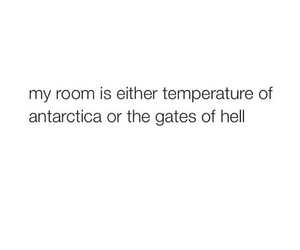 cold, Hot, and room image