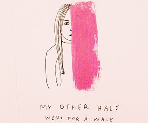 pink, art, and quotes image