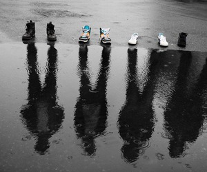 shoes, boy, and photography image