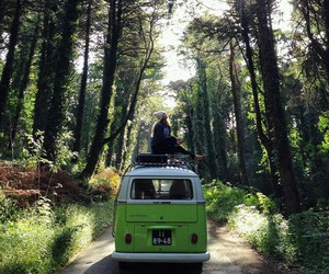 nature, travel, and hippie image