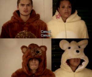 skins, matty, and casual image