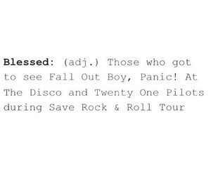 FOB, P!ATD, and tøp image