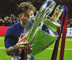 Barca, leo messi, and champions league image