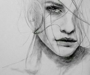 girl, drawing, and Dream image