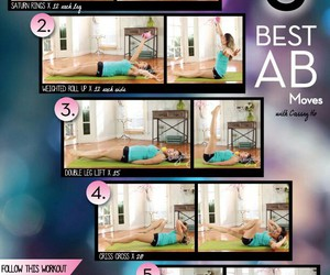 workout, blogilates, and abs image