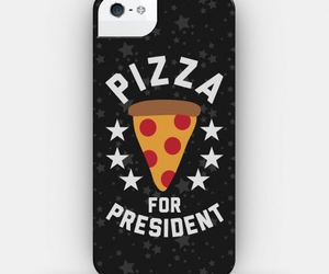case, pizza, and president image