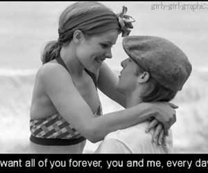 love, the notebook, and movie image