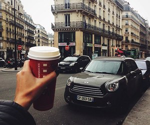 coffee, car, and city image