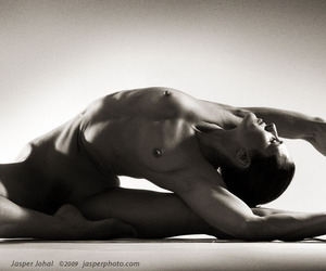 b&w, dance, and Nude image