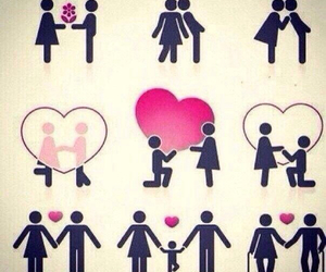 love, couple, and life image