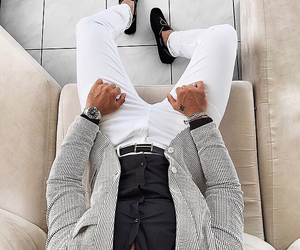 style, fashion, and men image