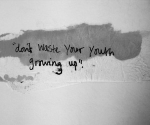 quote, youth, and text image