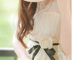 elegant and feminine image