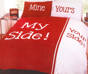 bed, side, and bedroom image