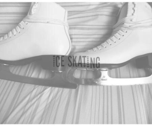 ice, ice skating, and skates image