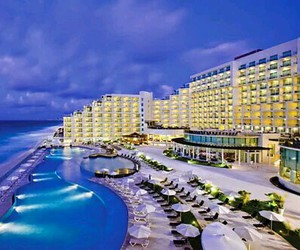 cancun, hotel, and travel image