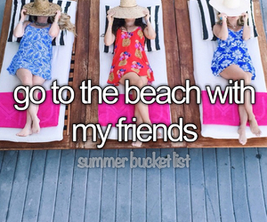 summer and summer bucket lis image