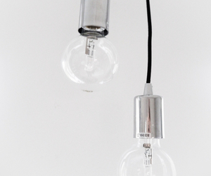 lamps, silver, and white image
