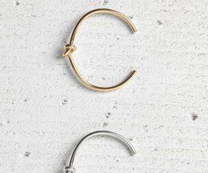 bracelet, gold, and silver image