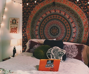 bedroom, hippie, and indie image