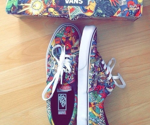 vans and Marvel image