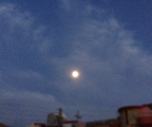 cloud, lovely, and moon image