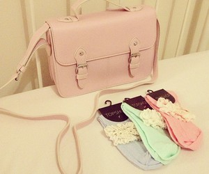 cute, bag, and fashion image