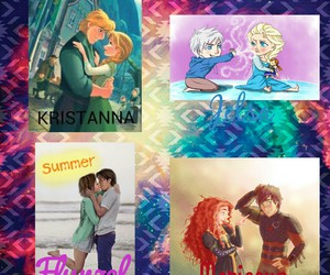 brave, frozen, and jelsa image