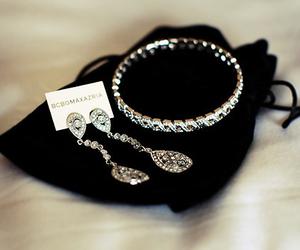 earrings and diamonds image