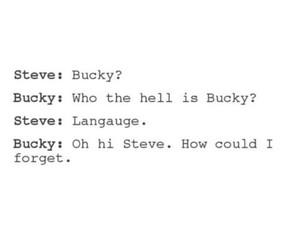 steve rogers, bucky barnes, and stucky image