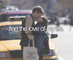 love, life, and bucket list image