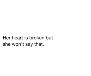 black and white, broken, and heart image