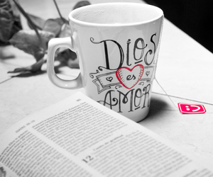 amor, god, and mug image