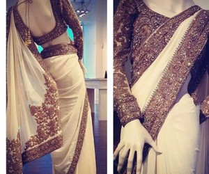 awesome, indian, and saree image