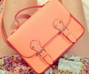 fashion, bag, and orange image
