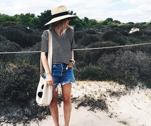 beach, fashion, and style image