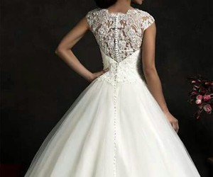 beautiful, dress, and simple image