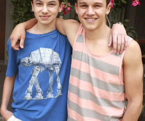 the fosters, Connor, and Jude image