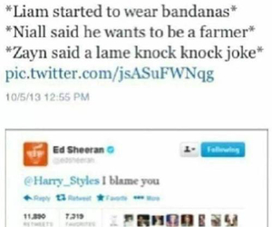 ed sheeran, Harry Styles, and one direction image