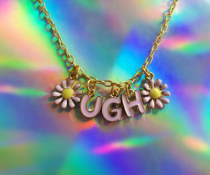 necklace, ugh, and grunge image