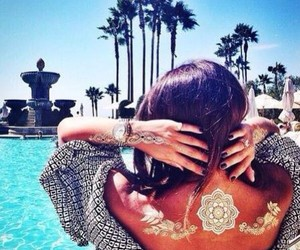 summer, style, and tattoo image
