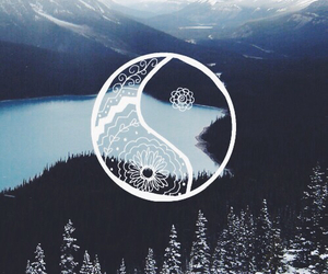 wallpaper, background, and mountains image