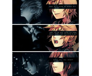 roxas, xion, and ask yourself image