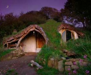house, hobbit, and home image